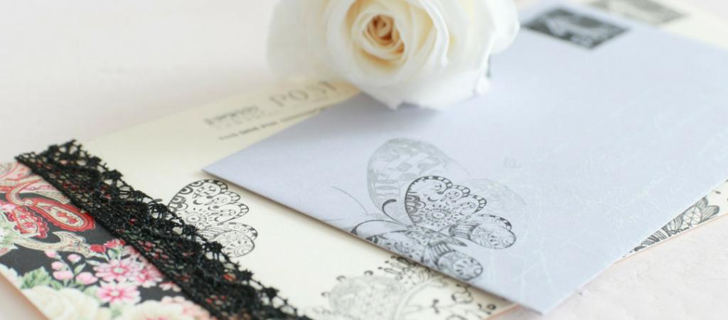DIY / Des enveloppes décorées avec du Papier Patch